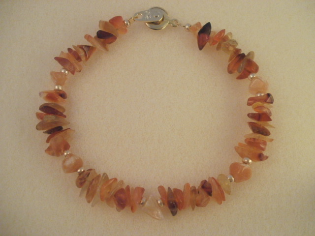 red agate & red aventurine