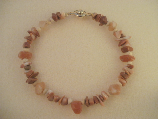 mud line jasper & red aventurine