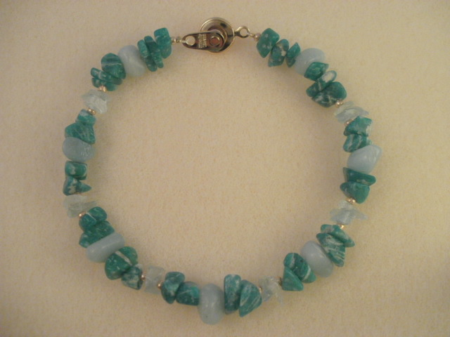 amazonite & amazonite(light) & aquamarine