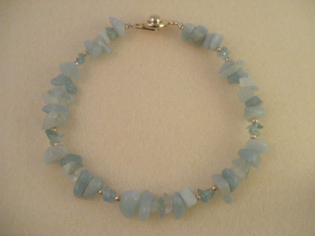 amazonite(light) & aquamarine & apatite