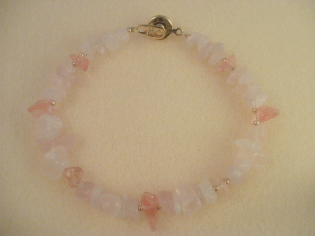 Rose Quartz & Cherry Quartz